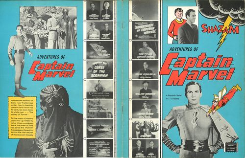 adventures of captain marvel pressbook