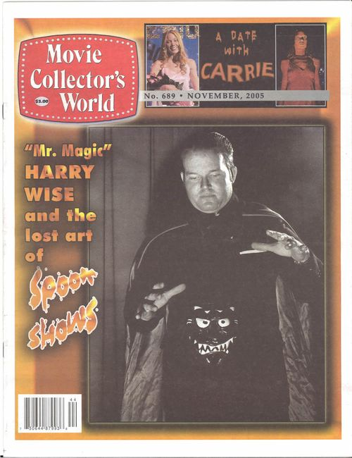 harry wise spook show