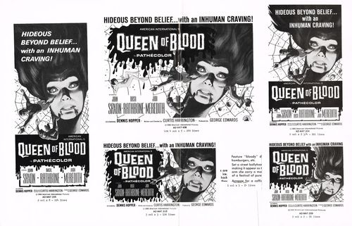 blood  bath queen of blood pressbook