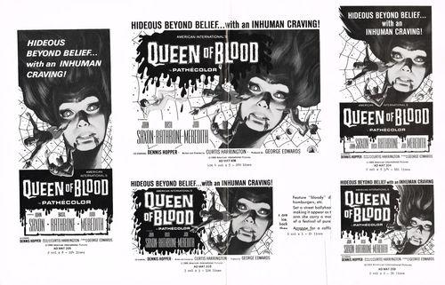 blood  bath queen of blood pressbook
