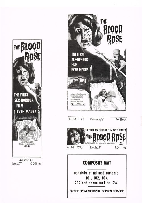 blood rose pressbook