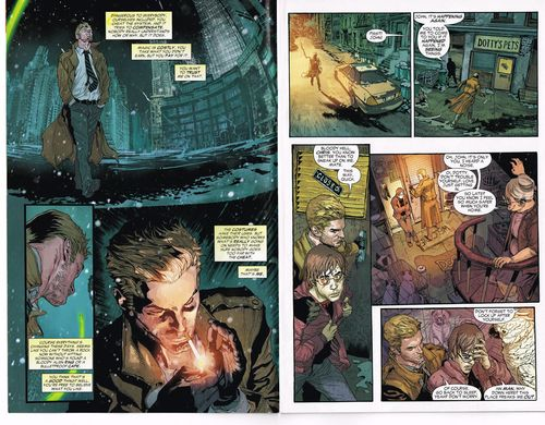 constantine issue one, the new 52