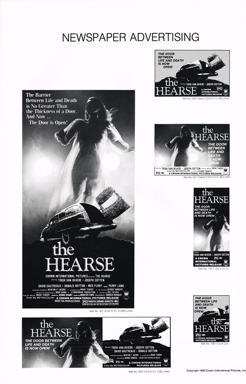 the hearse pressbook