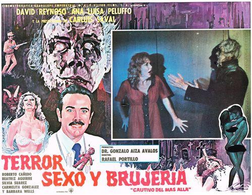 Terror Sexo Y Brujeria Mexican Lobby Card