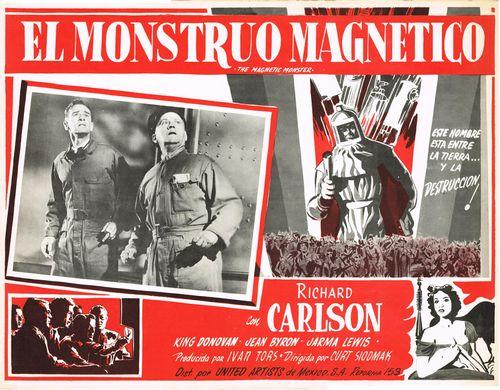 El Monstruo Magnetico Mexican Lobby Card