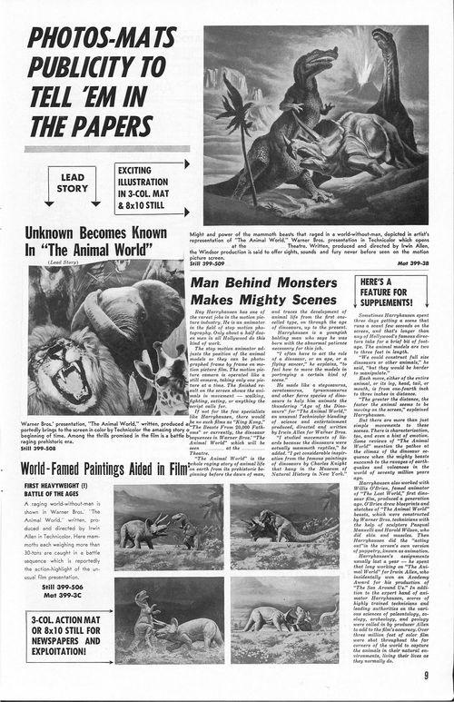 the animal world pressbook