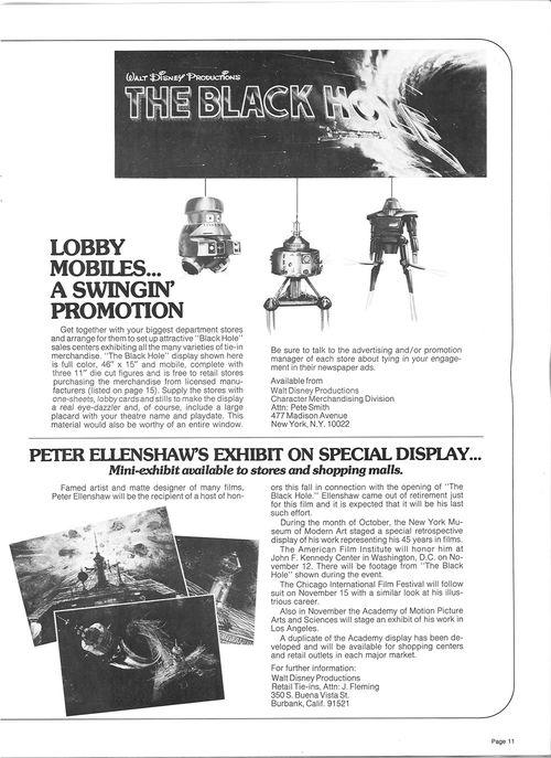 the black hole pressbook