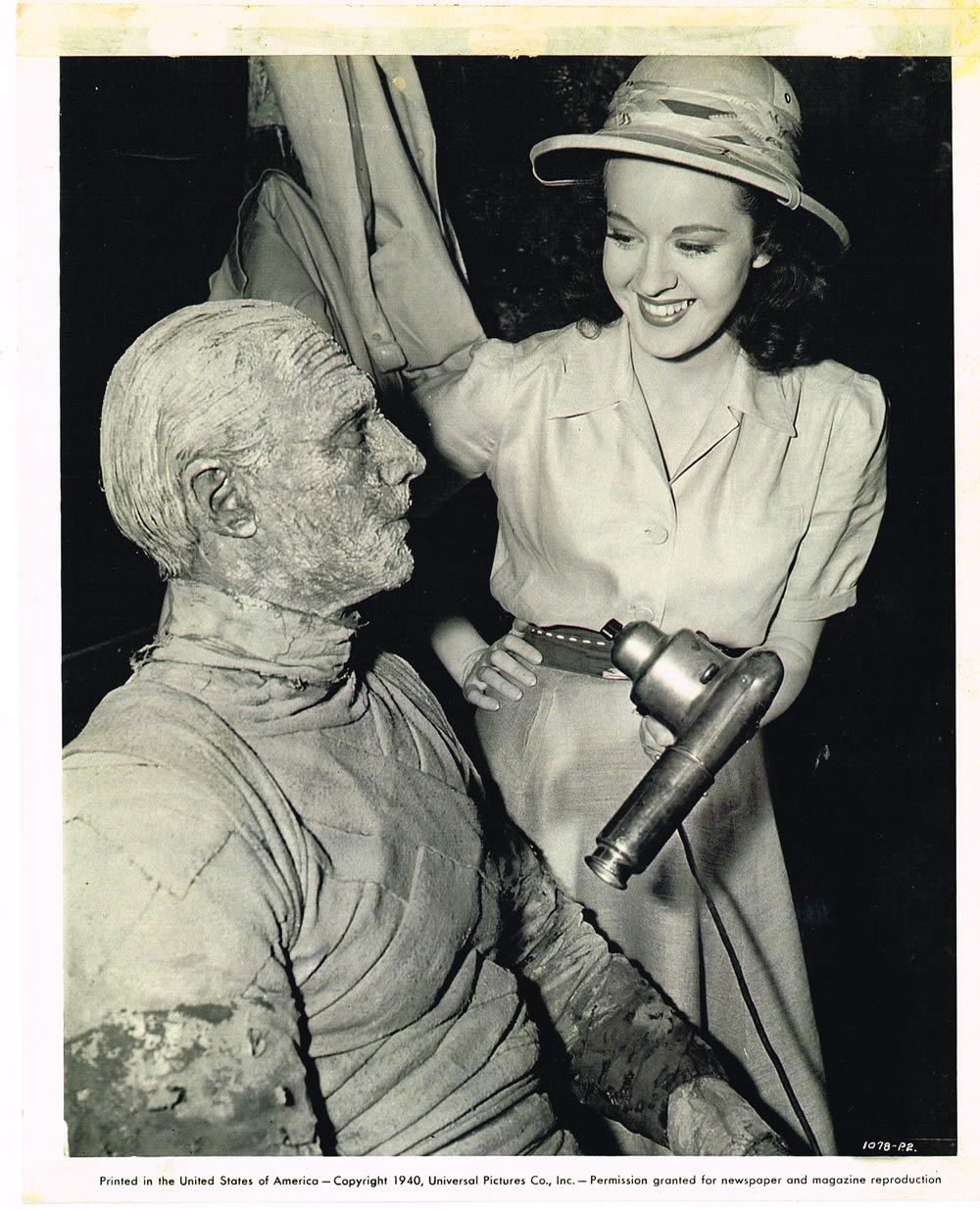 Image result for peggy moran in the mummy's hand