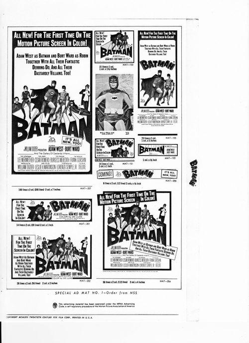 batman pressbook