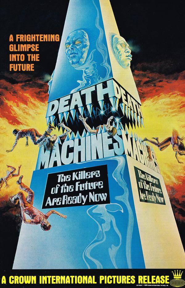 movie pressbook  death machines  1976   from zombos u0026 39  closet