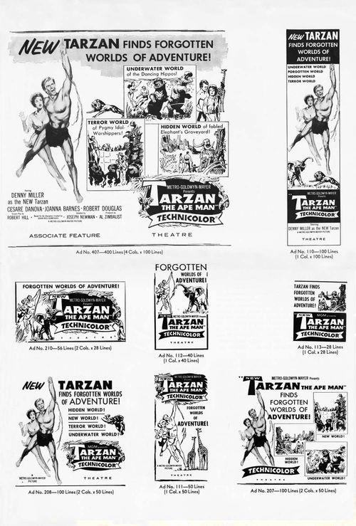 Tarzan ape man pb05