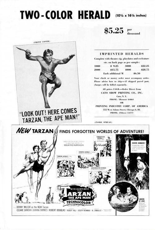 Tarzan ape man pb11