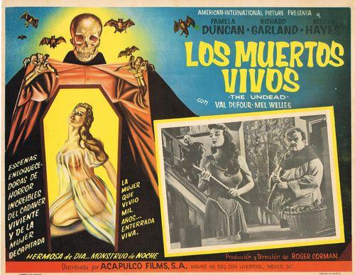 Los Muertos Vivos Mexican Lobby Card