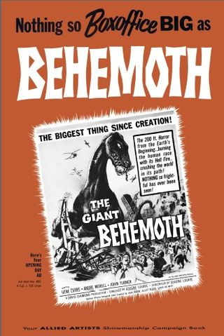 the giant behemoth pressbook cover