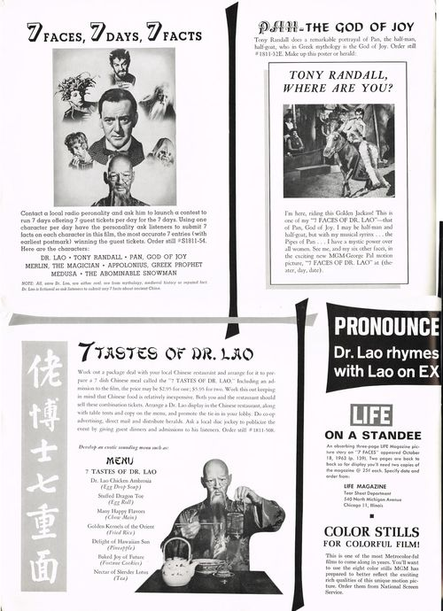 7 Faces of Dr. Lao Pressbook