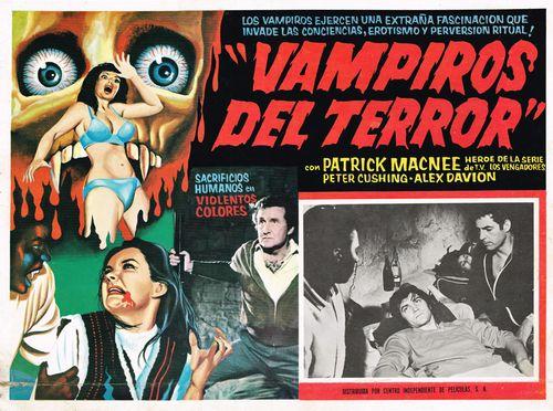 Vampiros Del Terror Mexican Lobby Card