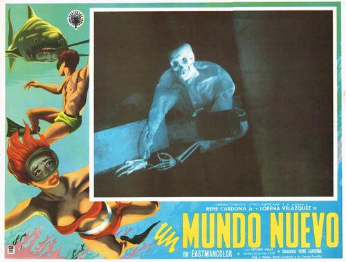 Un Mundo Nuevo Mexican Lobby Card