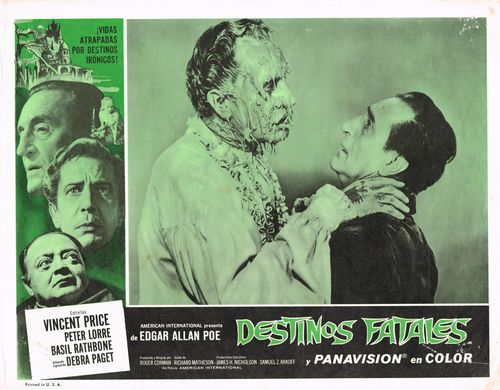 Destinos Fatales Mexican Lobby Card