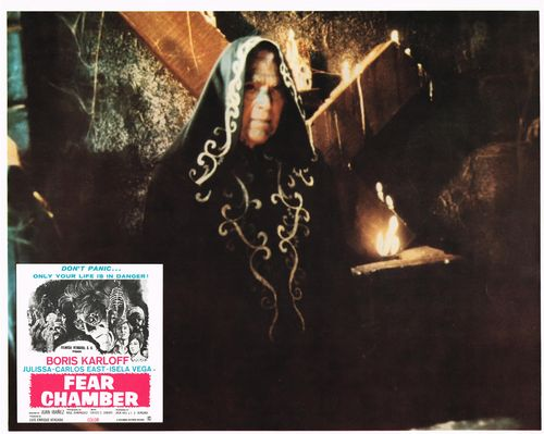 Fear Chamber (Boris Karloff) Mexican Lobby Card