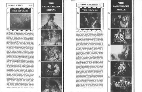 adventures of captain marvel pressbook