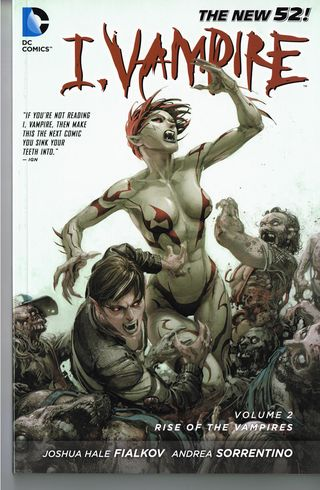 I vampire comic book