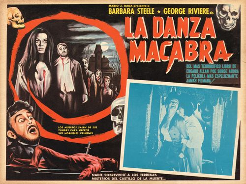 La Danza Macabra <br>Mexican Lobby Card