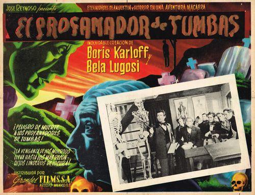 El Profamador De Tumbas Mexican Lobby Card