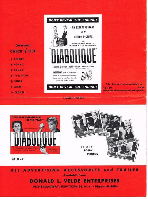 diabolique pressbook