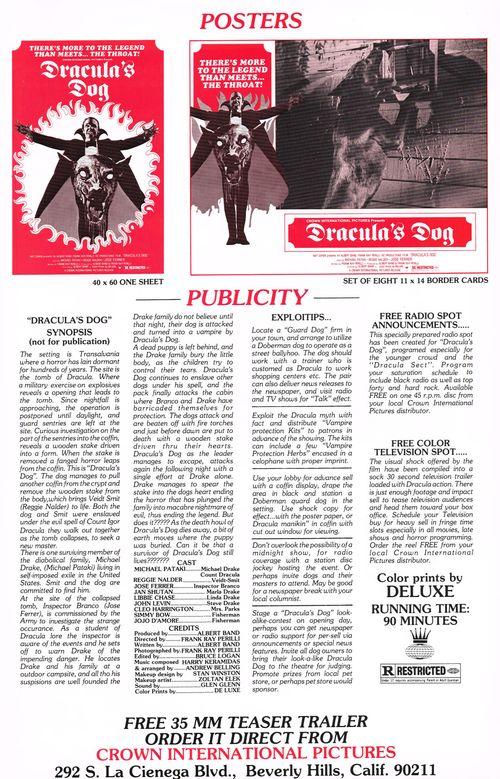 Dracula's Dog Pressbook