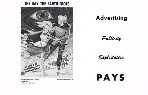The Day the Earth Froze Pressbook