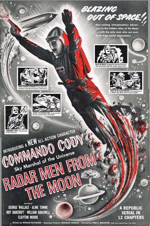 Radar Men From the Moon Pressbook