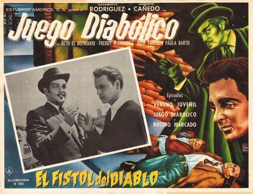 Juego Diabolico Mexican Lobby Card