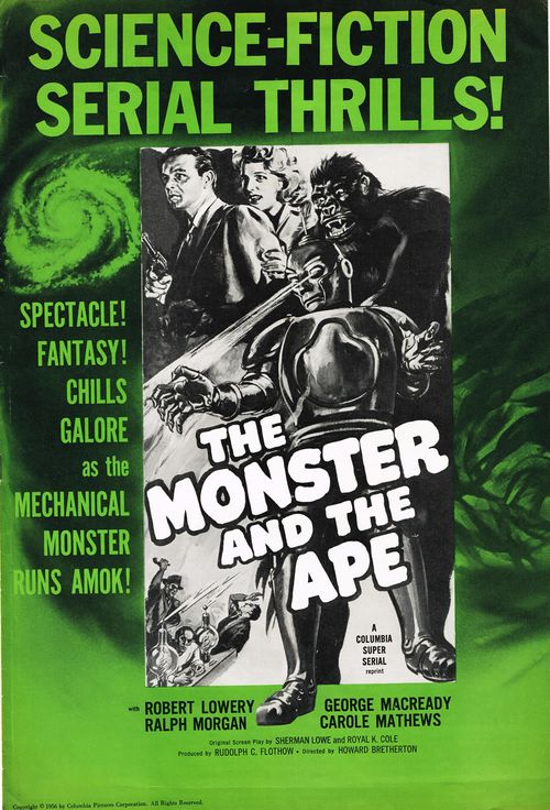 the monster and the ape pressbook