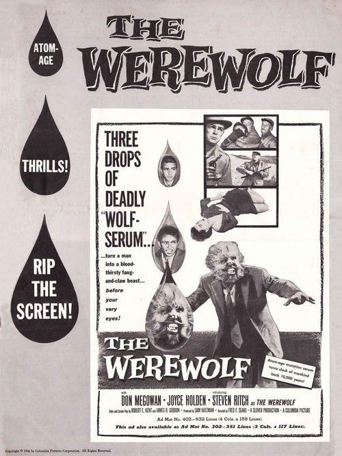 the Werewolf pressbook