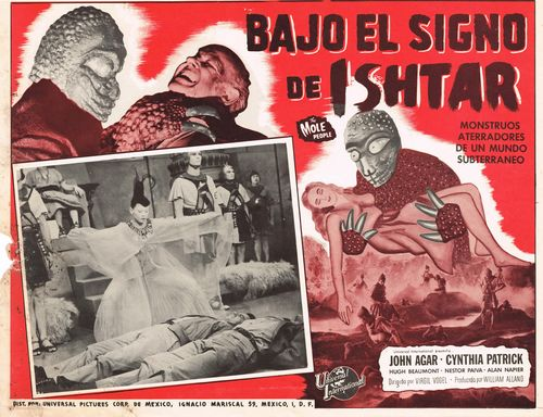 the mole people mexican lobby card