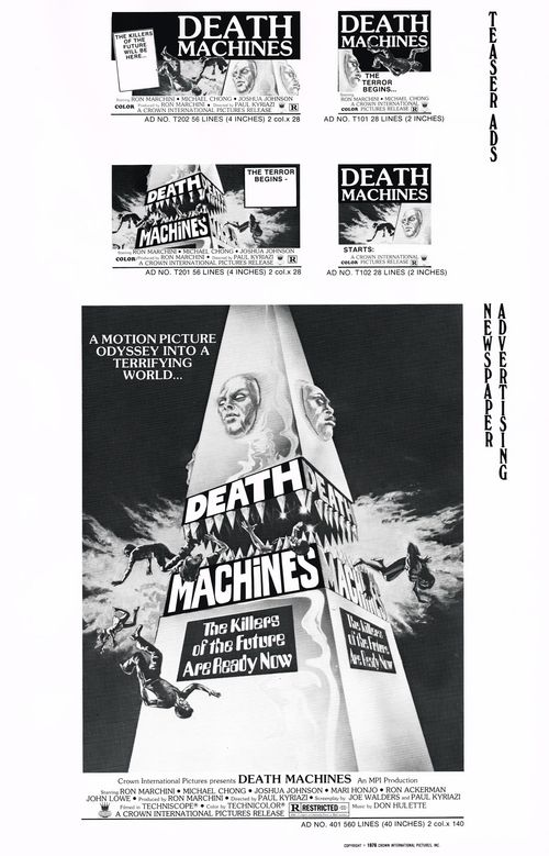 death machines pressbook