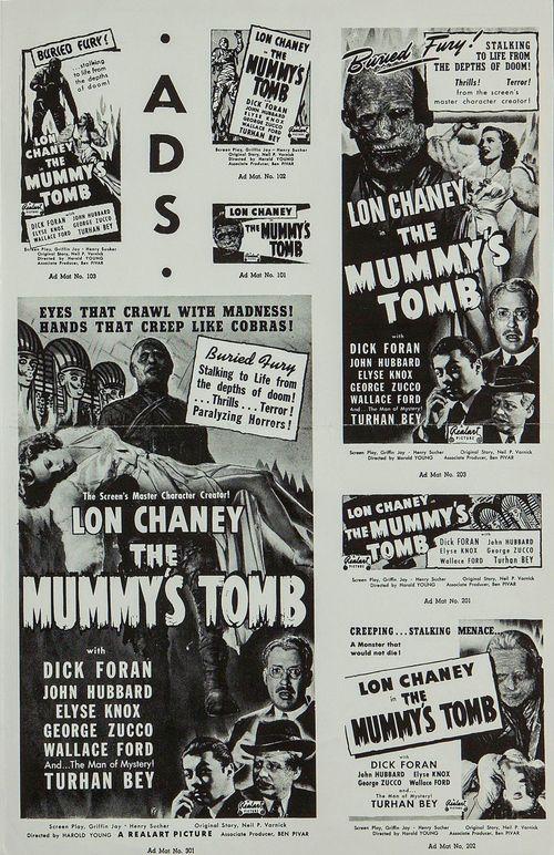 Mummy's tomb realart pressbook03