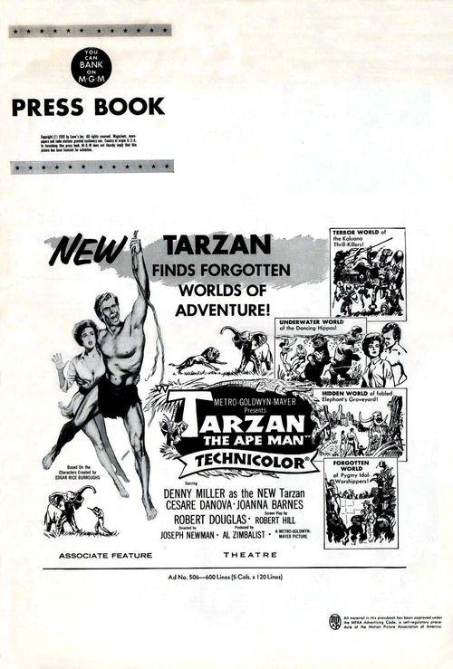 Tarzan ape man pb01