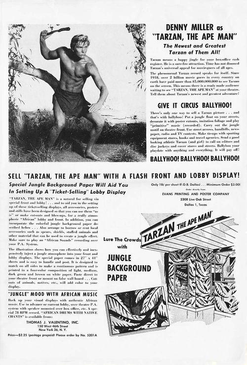 Tarzan ape man pb06