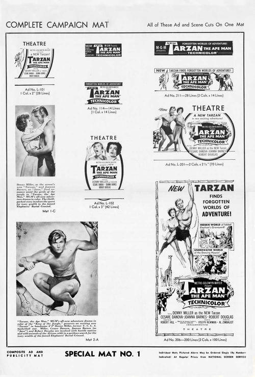 Tarzan ape man pb09
