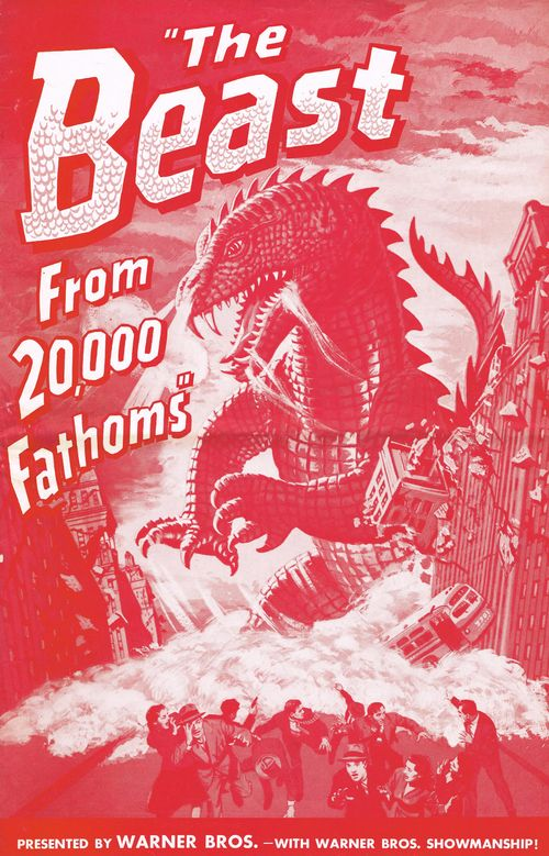 the beast from 20,000 fathoms pressbook