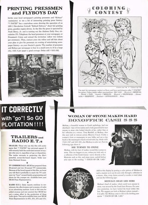 7 Faces of Dr. Lao Pressbook