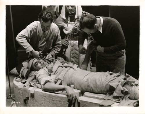 Karloff mummy wrapping