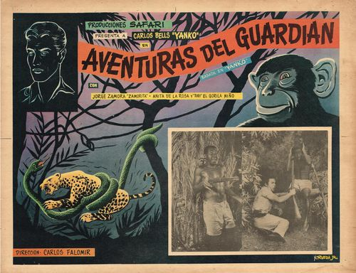 Aventuras Del Guardian Mexican Lobby Card