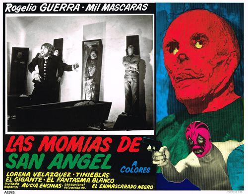 Las Momias De San Angel Mexican (Azteca) Lobby Card