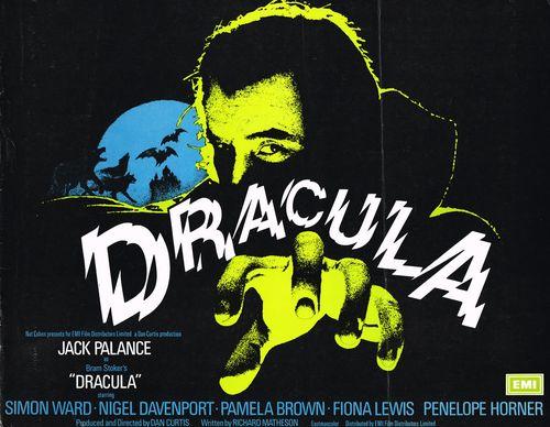 dracula jack palance pressbook