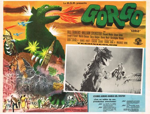 Gorgo Mexican Lobby Card