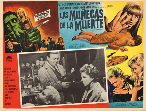 Las Munecas De La Muerte Mexican Lobby Card
