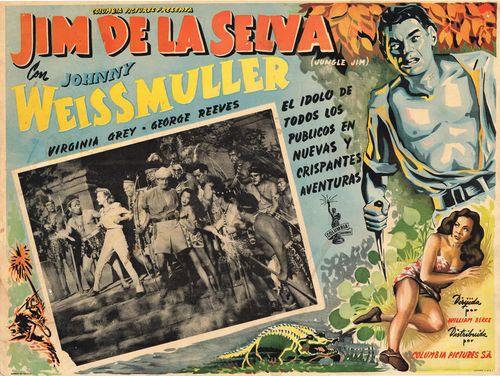 Jim De La Selva Mexican Lobby Card