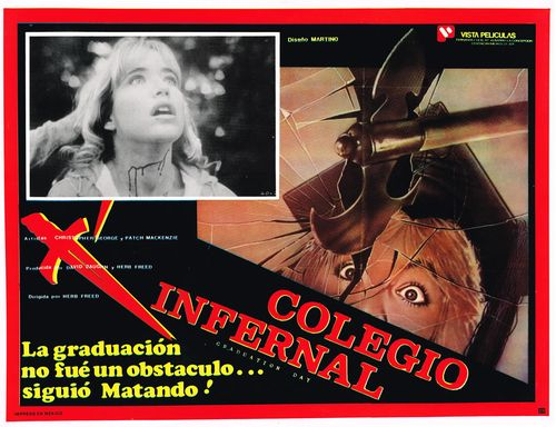 Colegio Infernal Mexican Lobby Card